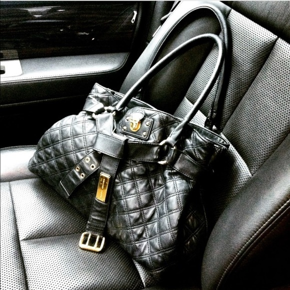 Marc Jacobs Handbags - Marc Jacobs Bruna Quilted Belted Gorgeous Handbag